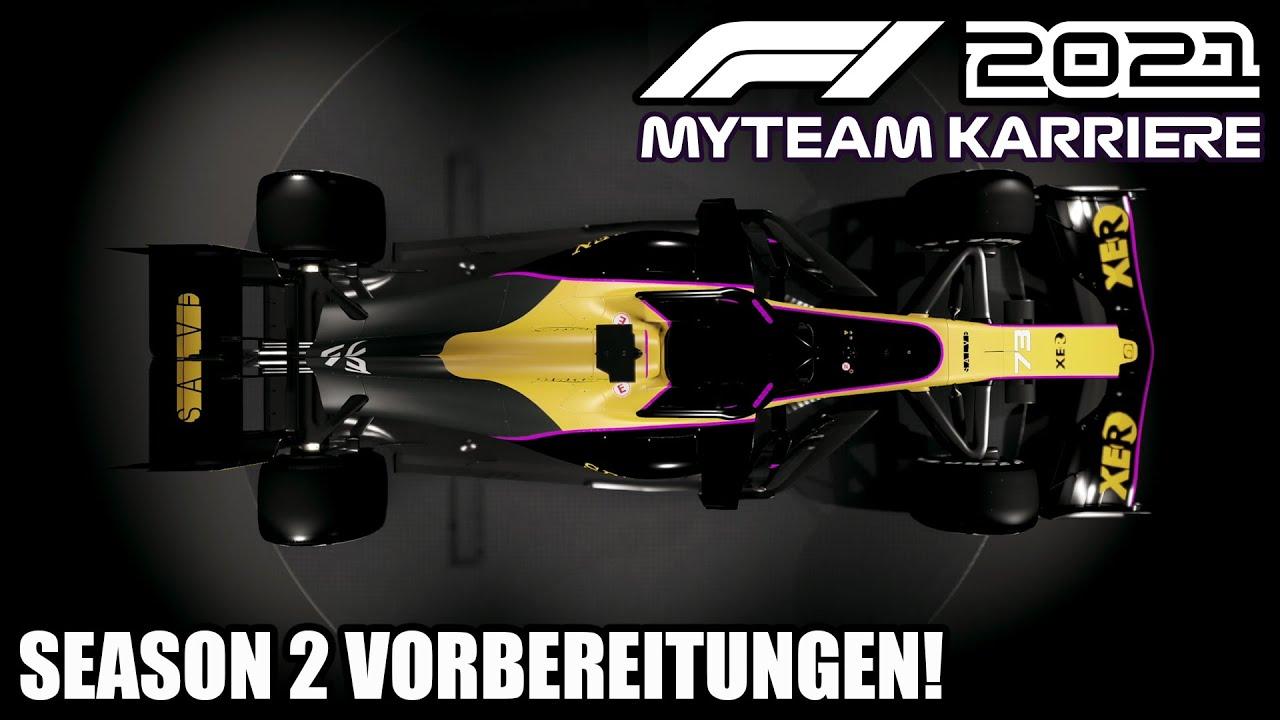 Season 2 Vorbereitungen: Motor, Lackierung, Rennkalender etc. | F1 2021 My Team Karriere #22