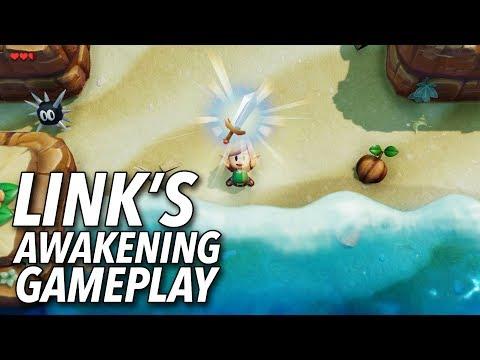 The Legend of Zelda: Link's Awakening Gameplay | E3 2019