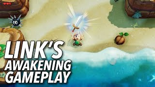The Legend of Zelda Link39;s Awakening Gameplay  E3 2019