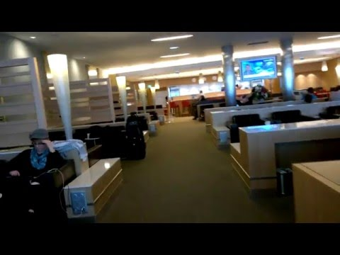 American Airlines Lounge Paris CDG Airport Admirals Club