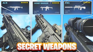 How To Make 18 SECRET Weapons in Modern Warfare! (COD MW Hidden Weapon Variants)