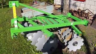 Мои сельхоз агрегаты для т-25