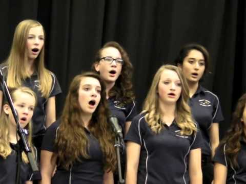 may 2014 Monument Charter Academy Advanced Choir Latin Song