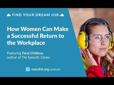 BONUS: How Women Can Make a Successful Return to the Workplace, with Farai Chideya