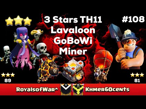 Clash Of Clan 🌟 3 Stars TH11 With...