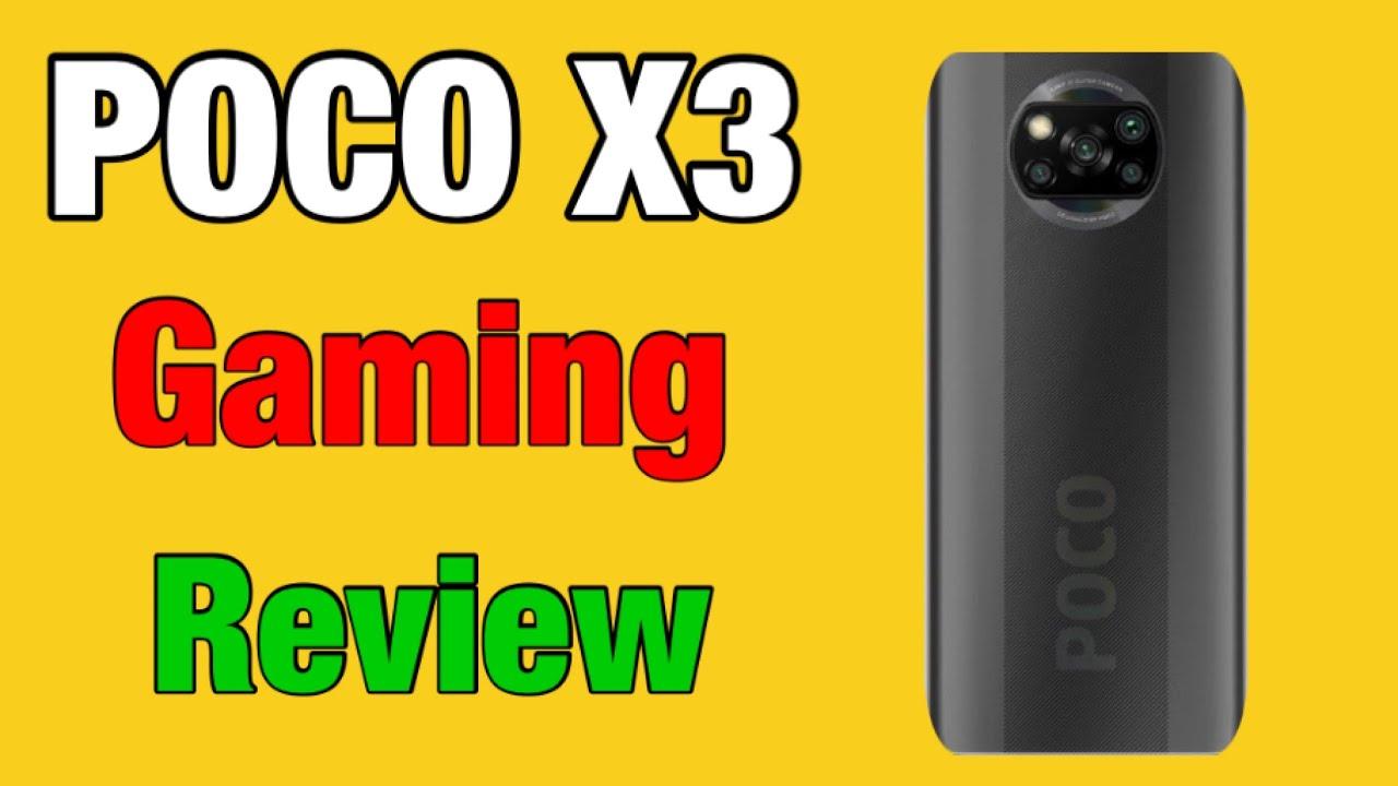 Poco X3 PUBG Test | Poco X3 Gaming Review | Poco X3 Unboxing Review