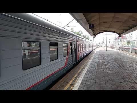 ЭП2К-032 с поездом 161 Санкт-Петербург - Москва