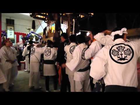 年越し神輿 藤沢遊行寺 Japan Newyear Festival 2013-1-1