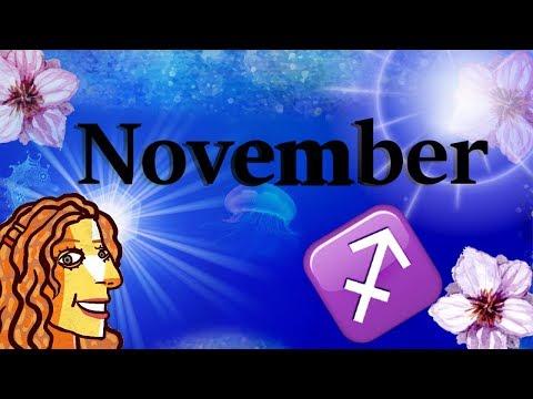 Sagittarius November 2017 Tarot and Astrology with Oracles
