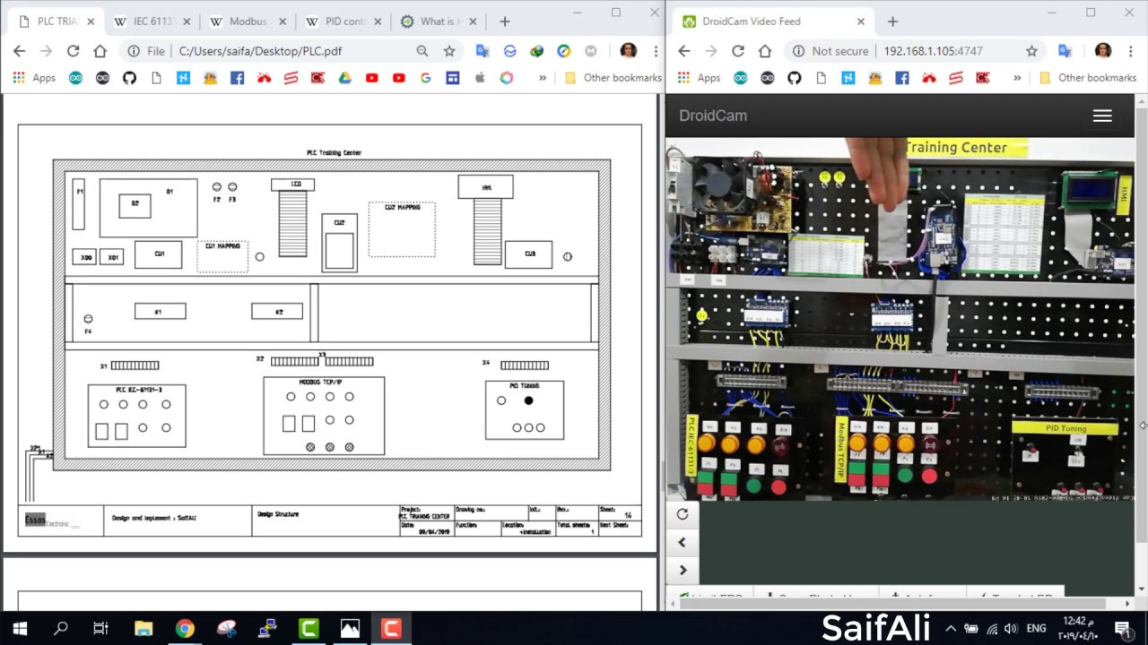 PLC Training Center - Arduino Project Hub