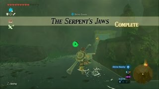 Zelda Breath of the Wild - SHRINE QUEST - The Serpent's Jaw