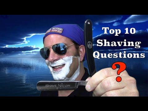 Top 10 Shaving Questions People Ask Me - Geofatboy