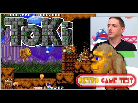 "Toki arcade ""making of"" - REVIEW 60fps english subtitles (Retro Game Test)"