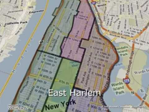 Map Of New York By Neighborhood.New York City Neighborhoods Map And Guide For Tourists And Visitors
