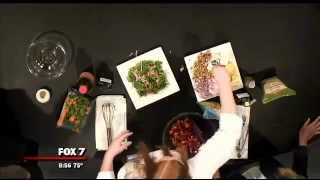 Cooking With Good Day Austin: Strawberry Salad With Balsamic Vinegar