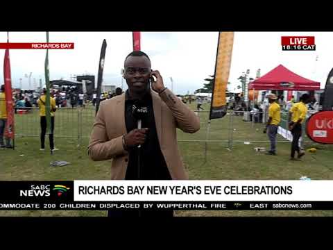 Countdown to 2019 in Richard's Bay