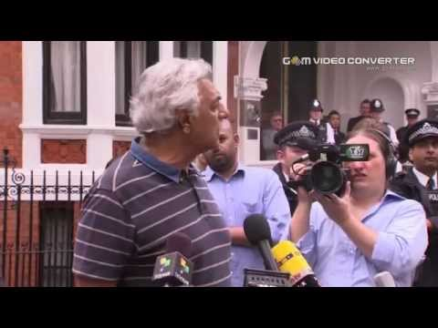 Julian Assange Speech at Ecuadorian Embassy - 19-08-2012