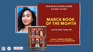 "#Dominicanreaders Book Club- Naima Coster on her novel ""Halsey Street"