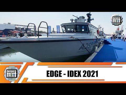 ADSB EDGE first-made UAE Mesbar 16 m and Majed 12 m fast patrol boats