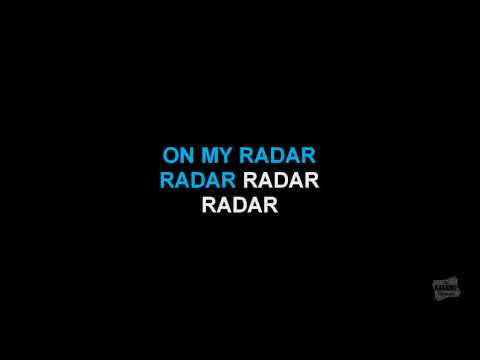 Radar in the style of Britney Spears karaoke  version with lyrics