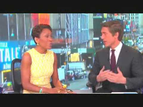 David Muir reacts to promotion on 'GMA'