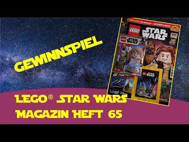 Lego Star Wars Magazin Blue Ocean Heft 65 (Gewinnspiel, Verlosung) - Bespin Luke