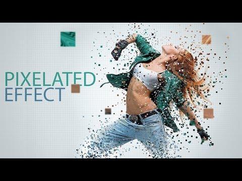 Pixelated Effect: Photoshop Tutorial thumbnail