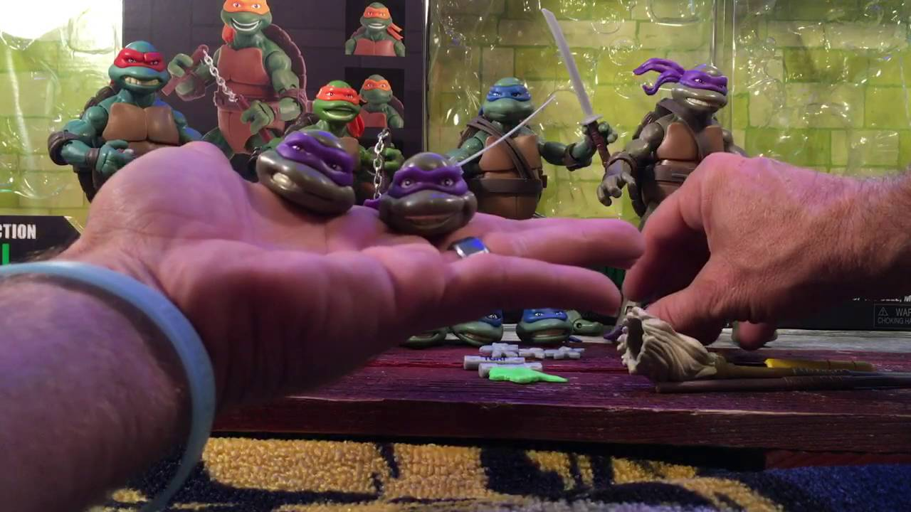 Retro review teenage mutant ninja turtles ii secret of the ooze - Teenage Mutant Ninja Turtles Classic Collection Action Figure Review Secret Of The Ooze