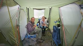 Camping at Glen Nevis campsite in Fort William