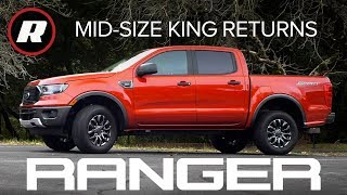 2019 Ford Ranger Review: The mid-size king is back