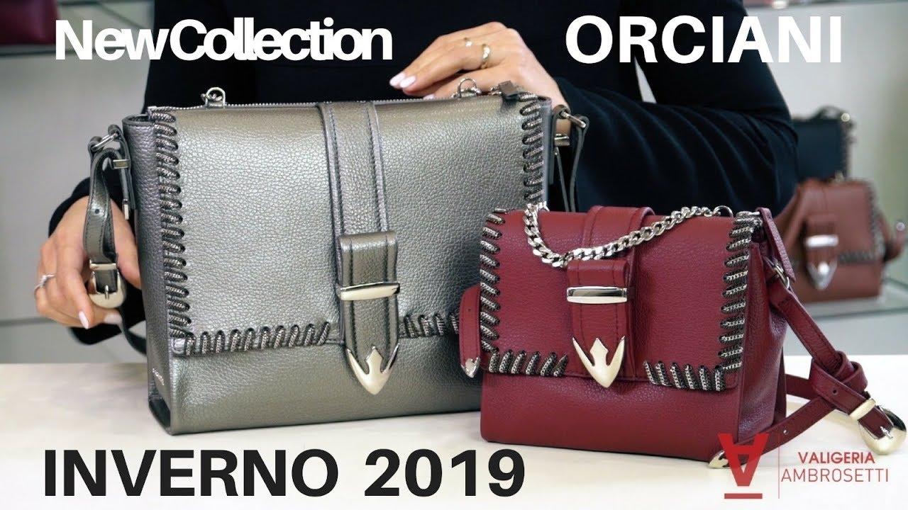 ceb11b3654 Borse ORCIANI | Nuova collezione INVERNO 2019 - YouTube