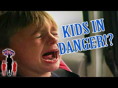 Nanny Thinks Kids Are In Danger! | Supernanny