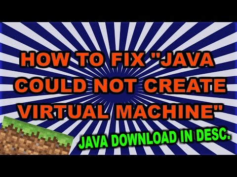 """how-to-fix-""""java-could-not-create-java-virtual-machine""""-2019-+-java-6-download"""