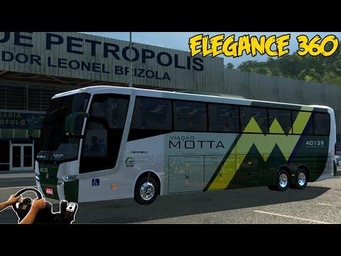 ELEGANCE 360 - PETRÓPOLIS A NOVA IGUAÇU - DESCENDO A SERRA - VOLANTE G27!!!