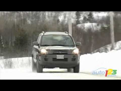 2009 Hyundai Tucson Review by Auto123 - YouTube