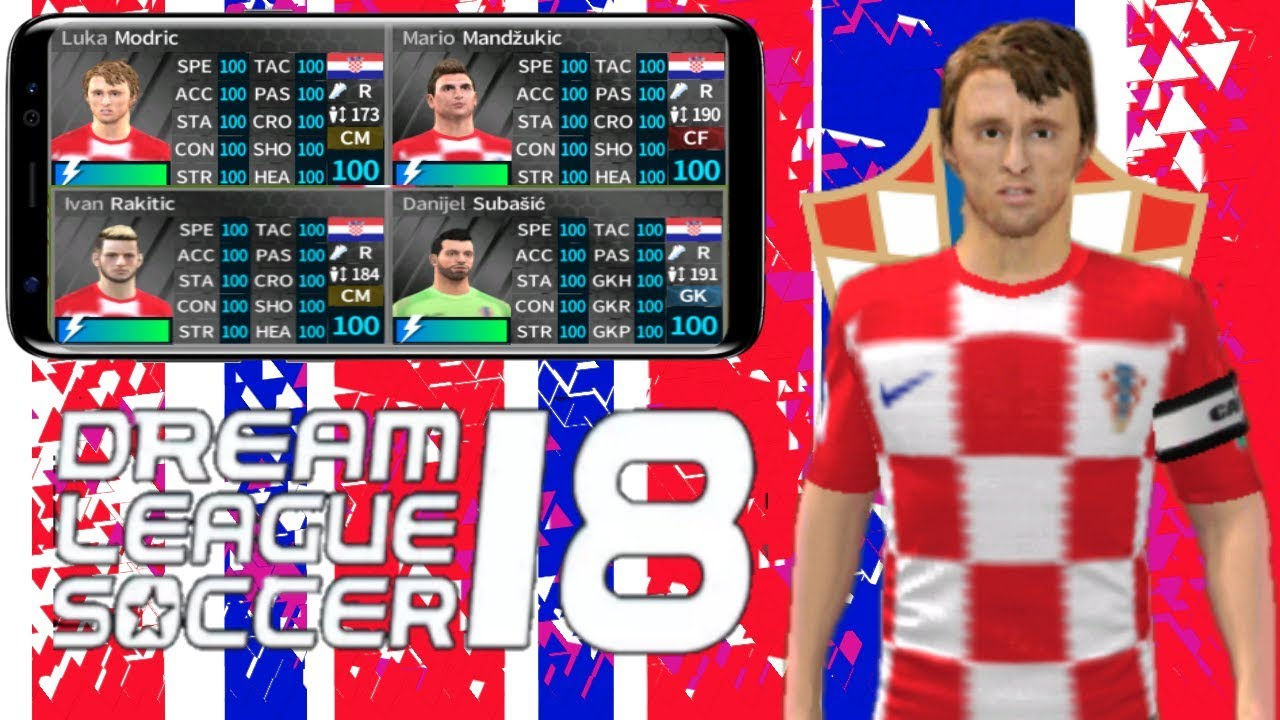Hack Croatia 18-19 DREAM LEAGUE SOCCER 2018-19 (UNLIMITED COINS+ ALL  PLAYER) v5 064