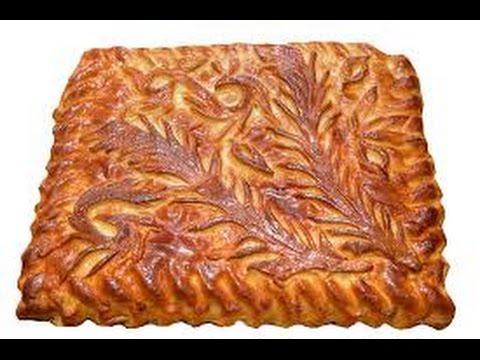 Заливной пирог с капустой на кефире, рецепт с фото