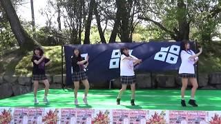 きみともキャンディ 2018.4.8 ライブ1部 丸亀城スプリングフェスタにて.