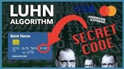 The Secret Algorithm in Your Credit Card Number