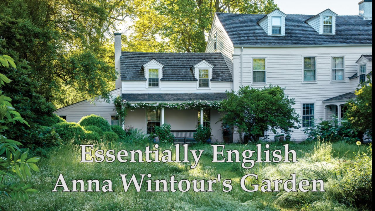 Essentially English: Anna Wintour\'s Garden on Long Island - YouTube