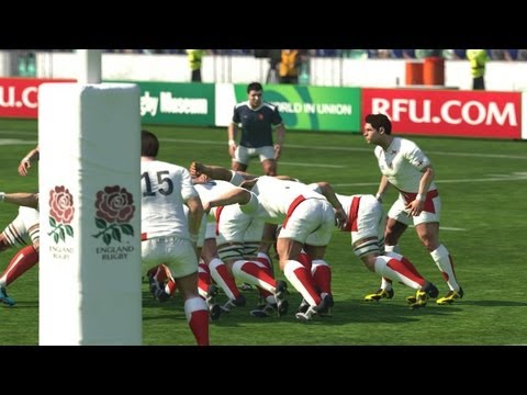 Rugby World Cup 2011 video game: The Final  England Vs South Africa Live Commentary!