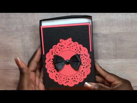 Dress cards With Box - (A2 Sized Cards) - SIMPLY SHANTA