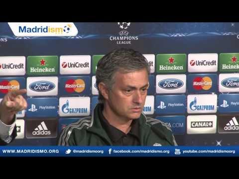 Rueda de prensa de Jose Mourinho y Michael Essien, previa Real Madrid - Manchester United