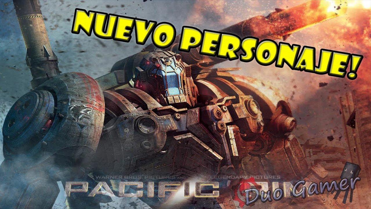 Pacific Rim- Gameplay Coyote Tango -Nuevo personaje DLC
