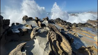 Big Surf at Salt Point State Park, Sonoma County, California