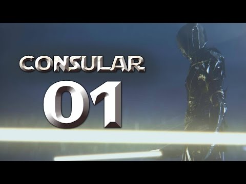 Jedi Consular - Part 1 (NO SUSPICION - Star Wars: The Old Republic SWTOR Let's Play Gameplay)