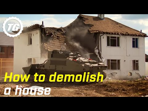 How to Demolish a House - Top Gear - BBC