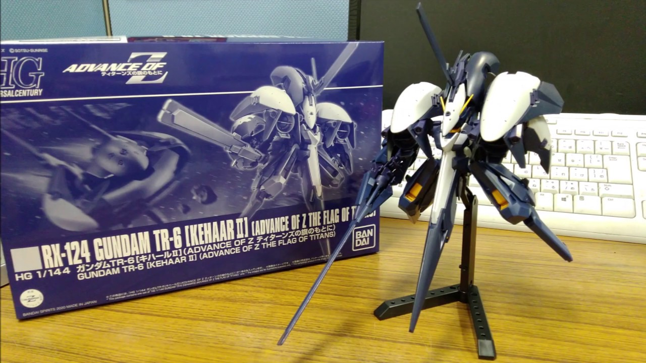 P-Bandai HGUC RX-124 Gundam TR-6 [Kehaar II] Sneak Peek