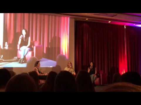 Janel Parrish & Sasha Pieterse singing Pretty Little Liars Theme Song