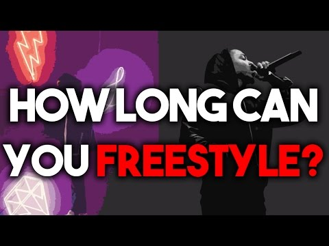 How long can you rap? FREESTYLE CHALLENGE | Hard Trap Hip Hop Beats Instrumentals